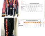 Mens New Native American Buckskin Black BUFFALO Leather Bead Shirt & Pant NAS205 - $9.949,03 MXN