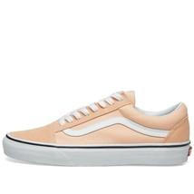 Vans Old Skool Bleached Apricot/ True White Womens Pink Coral - $48.99