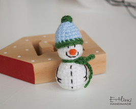 Christmas Decoration Handmade Snowman Toy Xmas Ornaments Hanging Pendant... - $19.00
