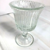 Vintage Footed Oyster/Dessert Glass EUC - $10.75