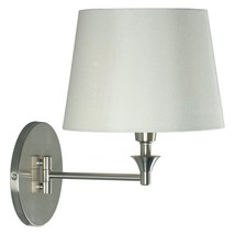 Kenroy Home Martin Wall Swing Arm Lamp - Brushed Steel - $151.20