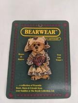 Boyd's Bears Clara Get Well Wearable Pin Brooch 1995 - $4.95