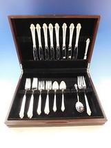 Edgemont Gold by Gorham Sterling Silver Flatware Set 8 Service 35 Pieces... - $2,295.00