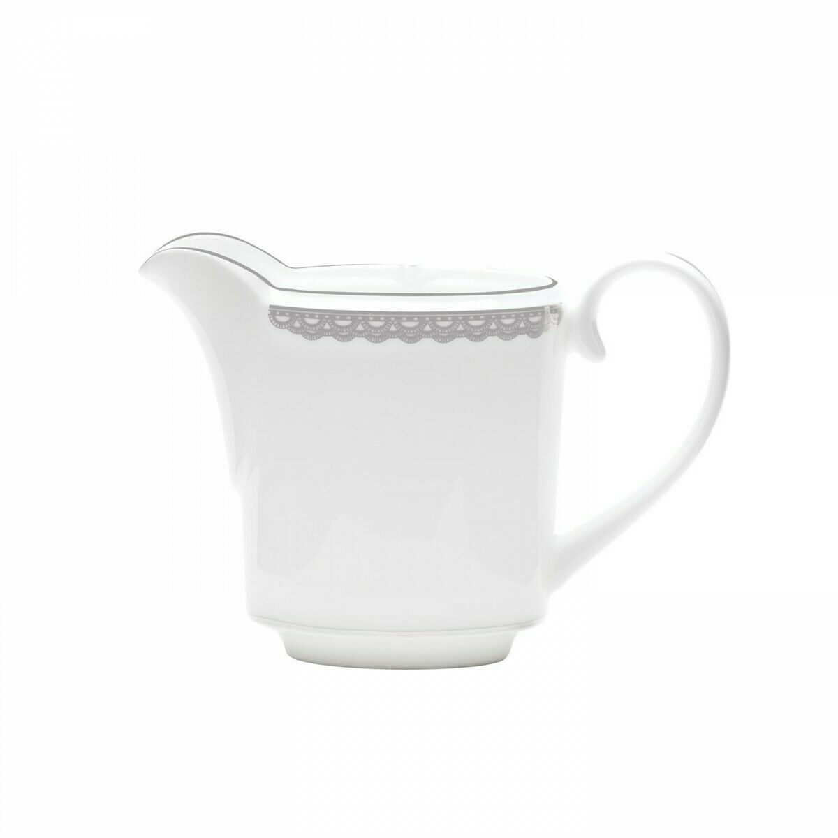 Waterford Lismore Lace Platinum Creamer New with tag #160644 - $92.57