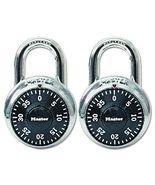 Master Lock 1500T Combination-Alike Locks, 2-Pack [New] - $15.99