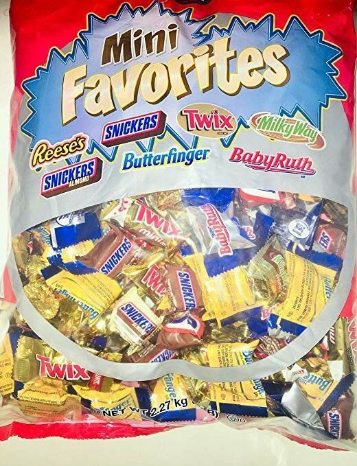 Primary image for Kirkland Mini Favorites Chocolate Candies Assortment 5 Lb Bag - 3 Pack (15 Lbs)