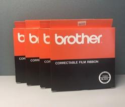 (4) Brother Correctable Film Ribbon 7020 Black NOS - $8.41