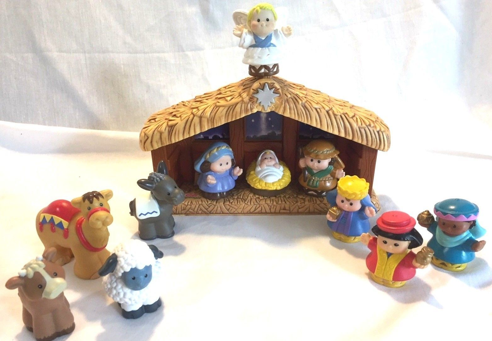 Fisher Price A Christmas Story Little People And 10 Similar Items