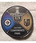 VEGAS GOLDEN KNIGHTS T-Mobile Exclusive PUCK 2018 Western Conference Final - $39.59