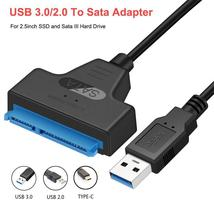 Congdi USB SATA 3 Cable Sata To USB 3.0 Adapter UP To 6 Gbps Support 2.5... - $10.49
