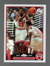 2003-04 TOPPS CHROME REFRACTOR #49 SCOTTIE PIPPEN BULLS - $3.49