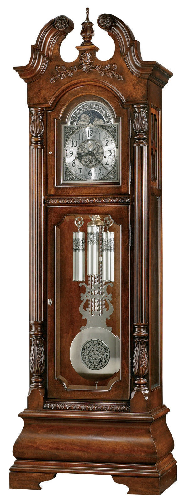 Primary image for Howard Miller 611-132 (611132) Stratford Grandfather Floor Clock -Hampton Cherry