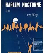 Sheet Music Harlem Nocturne Song Dick Rogers Earle Hagen  - $14.36