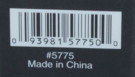 SPAcific Essentials 5775 Color Black Waffle Weave 60 Percent Cotton 40 Percent P image 4