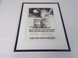 1979 Nestea Iced Tea Plunge 11x14 Framed ORIGINAL Vintage Advertisement - $39.59