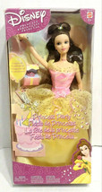 2002 Mattel Disney Beauty & The Beast Belle Princess Party Doll 56771 Ca... - $79.99