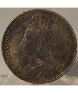 KM #774 Great Britain 1892 Silver Shilling AU Details #0994 - $59.99