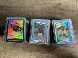 Bowman Baseball Cards Refractors Lot Of 117 1999-2008 - $48.99