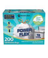 Member's Mark Power Flex Tall Kitchen Simple Fit 13 gal Drawstring Bags ... - $49.49