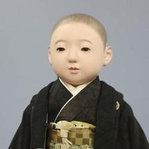 Ichimatsu Doll Antique Japan Showa Early Light Ryusai Boys 53 cm - $950.99