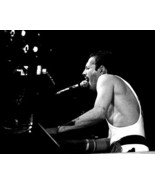 Queen Freddie Mercury Wembley Stadium In Concert At Piano 16X20 Canvas Giclee - $69.99