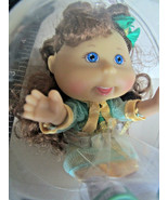 Cabbage Patch Lil Sprouts DOLL ORNAMENT Jayden Audrey 11/17 Brown Hair - $24.41