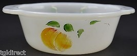 """Anchor Hocking Fire King 1 Pint Casserole Dish No 445 5.625"""" Wide Ovenware - $12.99"""