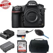 Nikon D850 DSLR Camera w/ Sandisk 32GB MC  DSLR Case  Dust Blower & Card... - $3,365.01