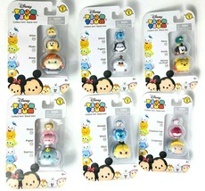 Lot Of 6 Disney Tsum Tsum 3 Pack Series 1 Mini Toy Figures - Gift for Kids - $25.48