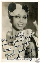 Josephine Baker autograph photo - $3.85
