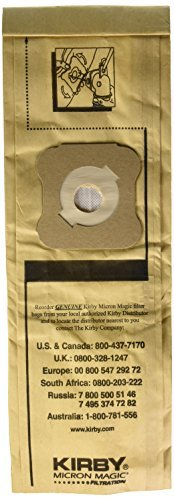Primary image for Kirby Micron Magic Filtration Vacuum Cleaner Bags - for Models G4 and G5 - New O