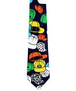 Ball Caps Mens Necktie Hat Clothing Head Gear Gift Novelty Blue Neck Tie  - $14.85