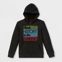 Well Worn Kids' Black History In The Making Hooded Sweatshirt - Black M - $20.00