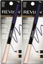 (2-PACK) Revlon PhotoReady Kajal Intense Eyeliner + Brightener, Purple Reign 004 - $12.99
