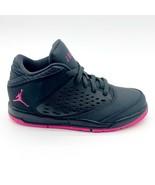 Jordan Flight Origin 4 Deadly Pink Black 921199 009 Kids Size 11.5 - $69.95