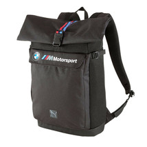 BMW M Motorsport Puma Roll Top Bag Utility Lifestyle Backpack 076897-01 image 2
