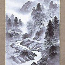Tokyo Art Gallery ISHIHARA - Kakejiku (Japanese Hanging Scroll) : Landscape (... - $656.37