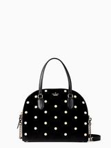Kate Spade laurel way velvet reiley satchel back $349 NWT - $290.17 CAD