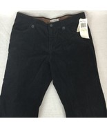 Columbia Sportswear Womens Black Corduroy Pants Straight Leg Cotton Size... - $35.85