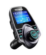 VicTsing Bluetooth FM Transmitter for Car, Wireless Bluetooth Audio (B-S... - $22.78