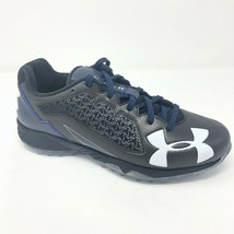 Under Armour UA Team Deception Low TF Navy Mens Size 9.5 Baseball 3019787 006 - $49.95
