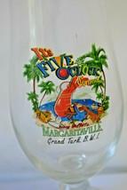 Margaritaville Grand Turk B.W.I. Hurricane Cocktail Glass Five O'Clock S... - $13.59