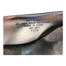"""AK """"Jericha"""" Ann Klein iflex comfort black sling back size 7.5 - $24.75"""