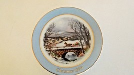 Avon Fine Collectibles Miniature Plate 1979 Das... - $12.99