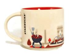 Starbucks 2016 Kansas City You Are Here Collection White Coffee Mug Cup 14 Oz - $18.31