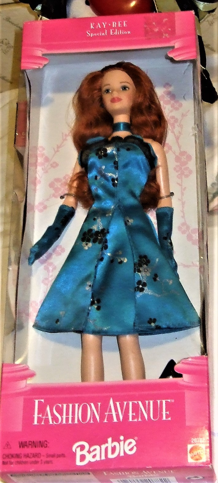 Barbie Doll - FASHION AVENUE Kay-Bee Special Ed (1998) Long Red Hair image 5