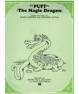 Sheet Music ~ Puff The Magic Dragon ~ Recorded by Peter Paul & Mary ~ 1963 - $16.78