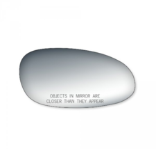 Fits 97-05 Century, Regal, Intrigue Right Pass Mirror Glass Lens w/Silicone - $18.76