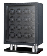 Volta Automatic 16 Watch Winder Box Carbon Fiber Signature Series 31-560160 - $2,425.50