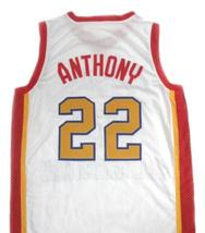 Carmelo Anthony #22 McDonald's All American Basketball Jersey White Any Size image 2